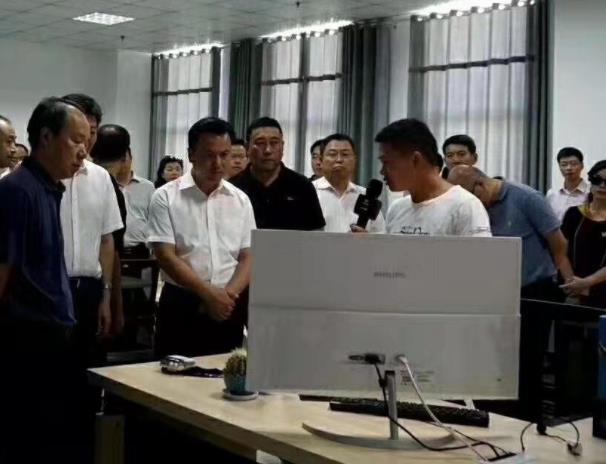 吴群刚市长莅临一颗认养西充分公司考察